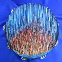TAMBOURINE: GOD ANSWERS BY FIRE-Prophetic Artist, Lynn Altman