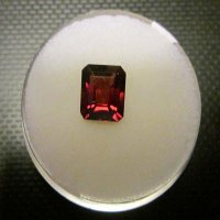 GARNET: cushion cut (2.15 carat)
