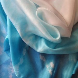 SILK FLAG SET: Dew of Heaven w/Tzitzits