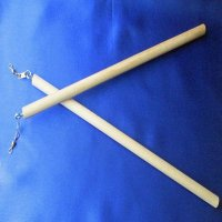 RIBBON Twirl STICK: natural with hardware