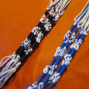 TZITZITS: Traditional blue & white