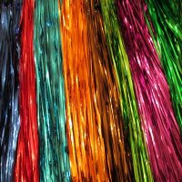 STREAMERS: Metallic/Wet Look, 30 inch, 18 colors