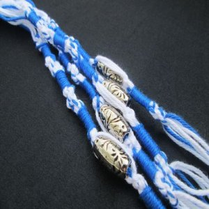 TZITZITS: with Beads [set of 4]