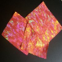 FABRIC: Hologram FIRE! [swatch]