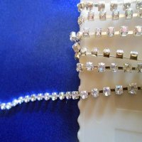 TRIM: [remnant] Clear Rhinestone Chain