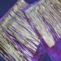 BLING FLAG: Royalty, (silk) small w/flexi-rod