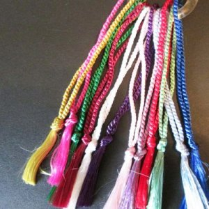 TASSELS: Bookmark 10 color choices