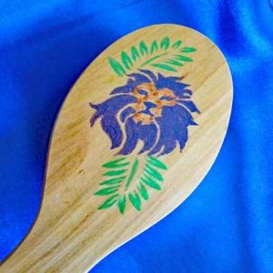 BODY BRUSH: exfoliator for healthy skin [LION of JUDAH]