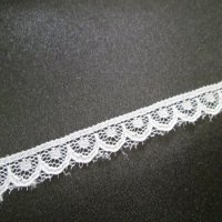TRIM: Scalloped Lace