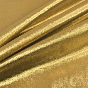 FABRIC: Gold Tissue Lame'