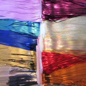 STREAMERS: 12 inch, 10 color choices