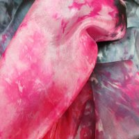 SCARF: 100% silk (Secret Place)