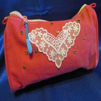 MAKE-UP BAG: 100% cotton, Special Treasure