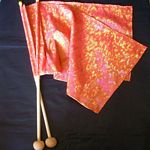Habotai Silk Small Flag Set