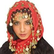 Esther Head Scarf with Gold Coins