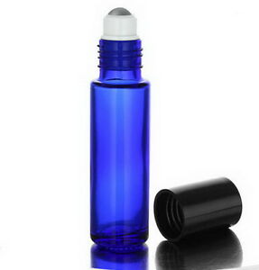 Cobalt Blue Roll-on Bottle, (10ml)