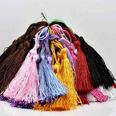 TASSELS: Silky (set of 4) - Click Image to Close